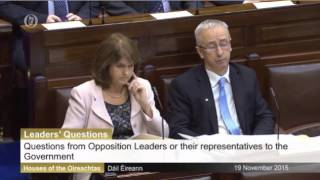 Thomas on Leaders' Questions Speaking on Super Trawler Fishing off the Irish Coast