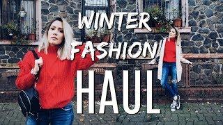 Winter Fashion Haul mit Anprobe (Urban Outfitters, Pull & Bear...) | funnypilgrim