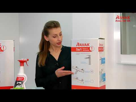 Обзор набора смесителей для ванны Ravak Termo 5-в-1