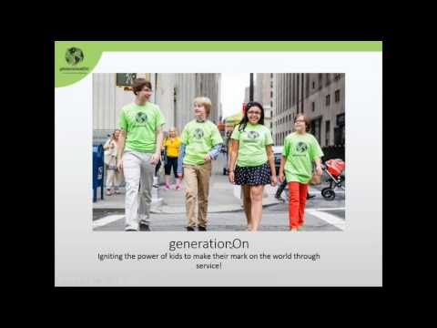 Global Youth Service Day and Make Your Mark on Hunger Webinar