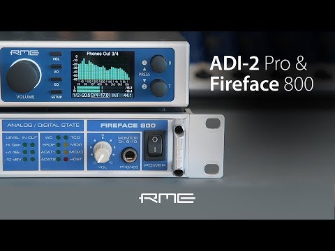 Upgrade your Fireface 800 with ADI-2 Pro conversion Power