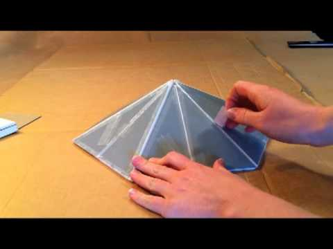Tape Patch Roof Cone Youtube