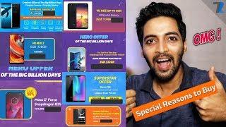 LOWEST EVER PRICE ON SMARTPHONES   Flipkart Big Billion Days Sale