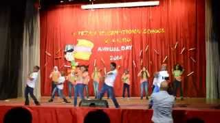 Dance HIP HOP in PAKISTAN International School ,  EGYPT 2014