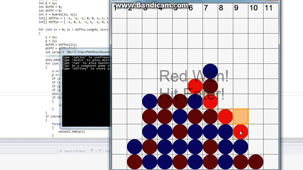Connect 4 Game in C# - YouTube