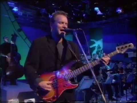 dave swift sting on bass with jools holland walking on the moon youtube. Black Bedroom Furniture Sets. Home Design Ideas