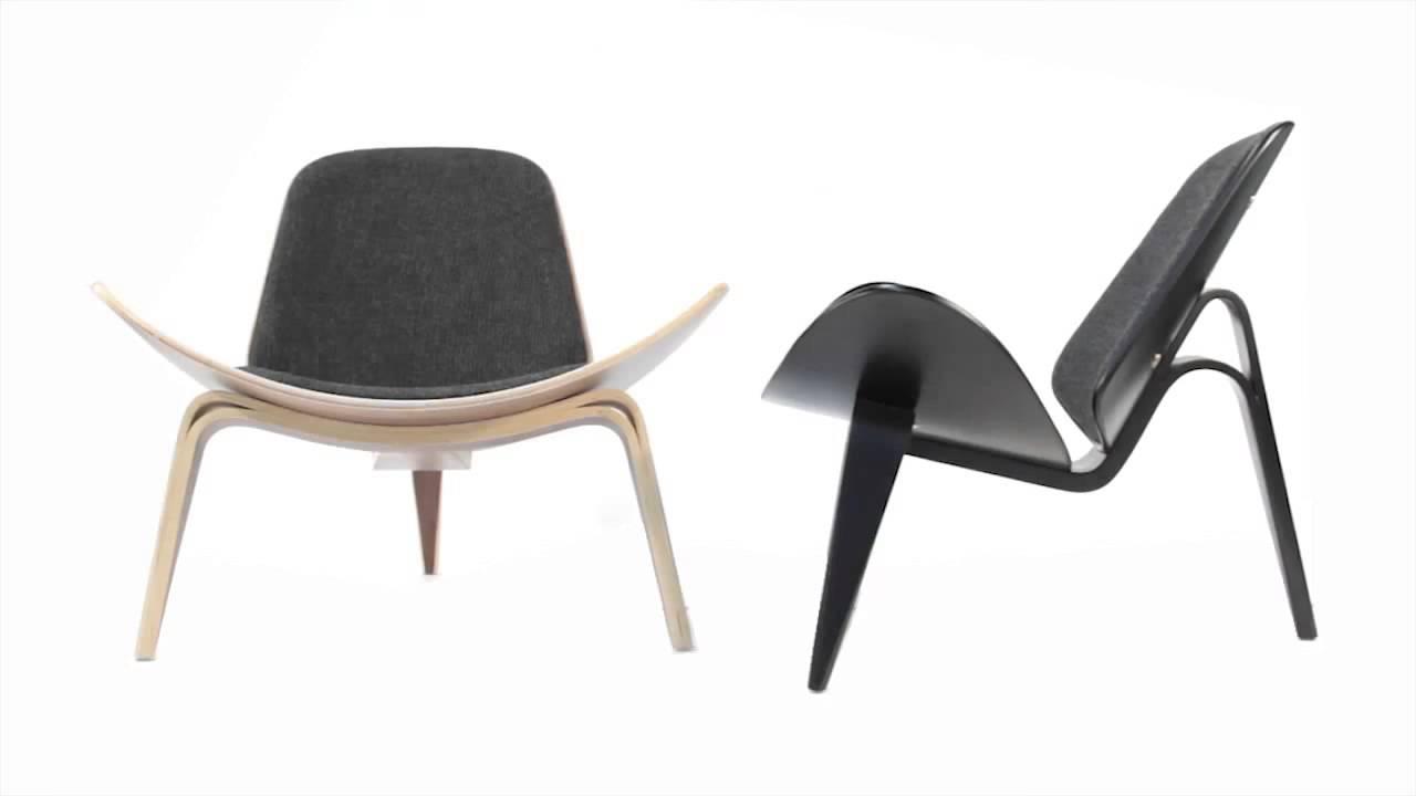 Shell Chair Replica Lafuma Accessories Hans Wegner From Matt Blatt Youtube