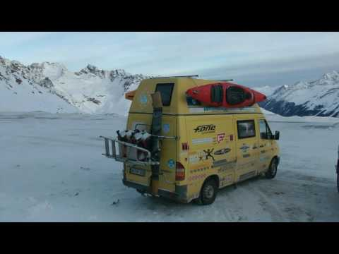 (1) WINTERCAMPING & WINTERSPORT im Tiroler KAUNERTAL - Longplay 1
