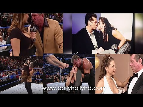 5 Times Vince Mcmahon and Stephanie Mcmahon Got Physically Close Touching Kissing thumbnail