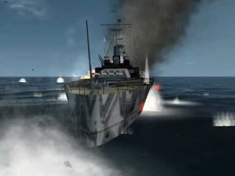 Silent Hunter 3 king George V Vs 22 k-class german ships