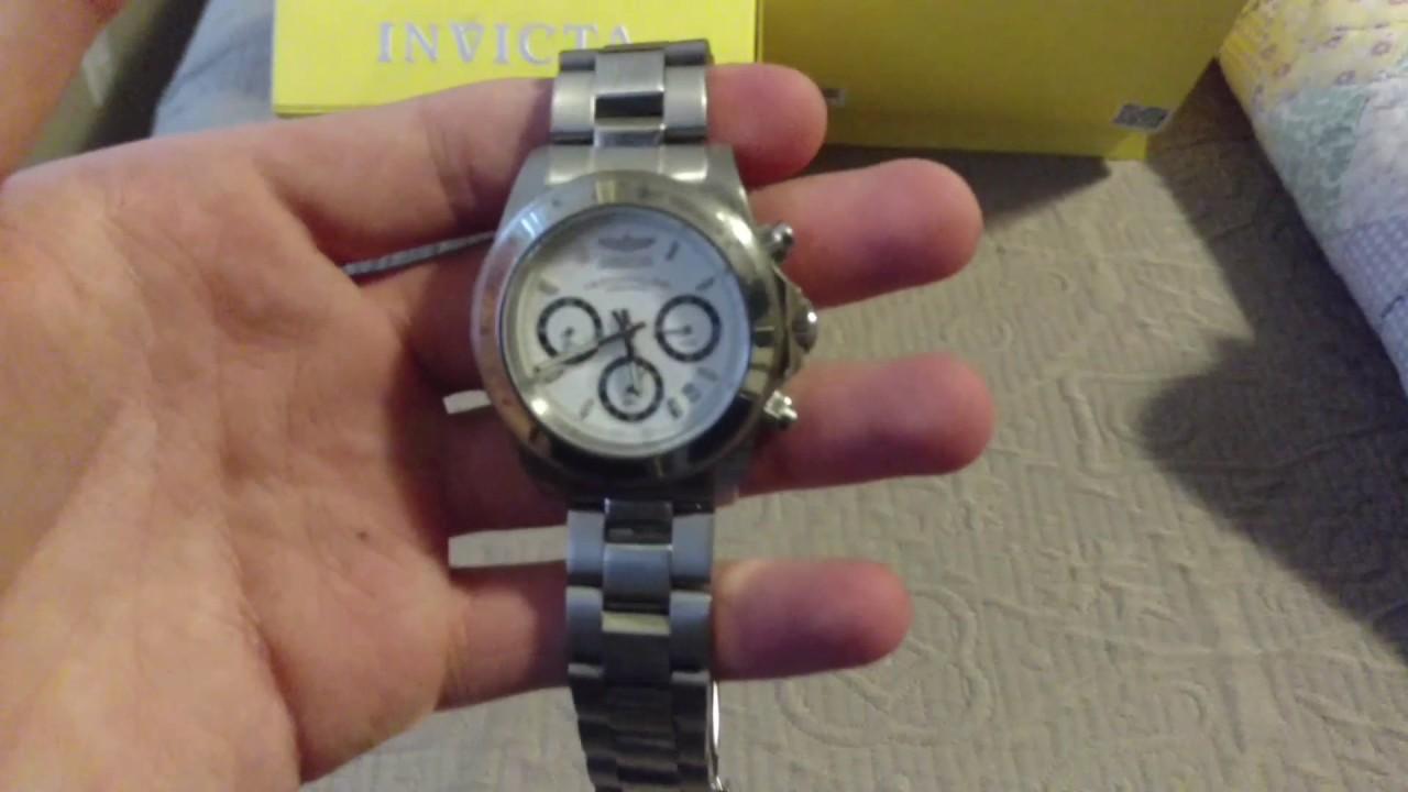 Invicta Professional Speedway 9211 review - YouTube