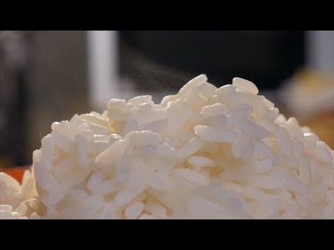 Как разогреть рис в микроволновке