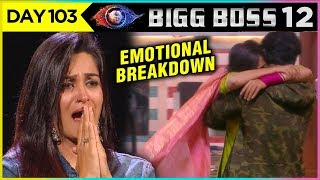 Dipika Kakar EMOTIONAL Breakdown | Journey Video | Bigg Boss 12 Episode 103 Update