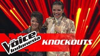 Kim vs Rambu | Knockouts | The Voice Indonesia GTV 2018