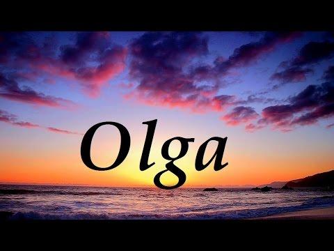 Olga, significado y origen del nombre