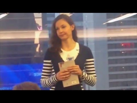River Of Flesh book launch, Ashley Judd Reads a Passage from the book on March 17, 2016