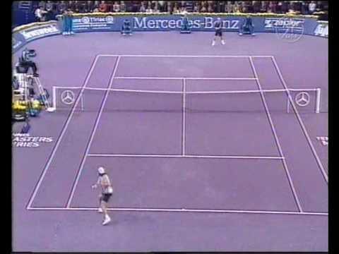 Lleyton Hewitt vs. Tommy Haas (Stuttgart 2001 - Semifinal)