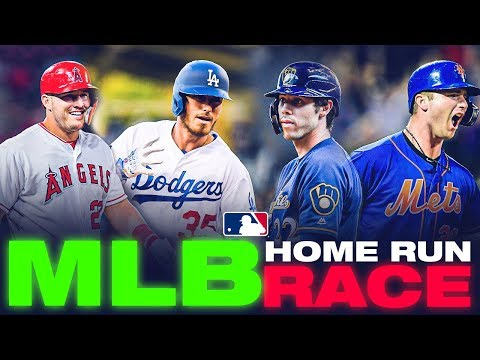 MLB Home Run Leader Race HEATS UP: Bellinger, Trout, Alonso and Yelich competing for top spot