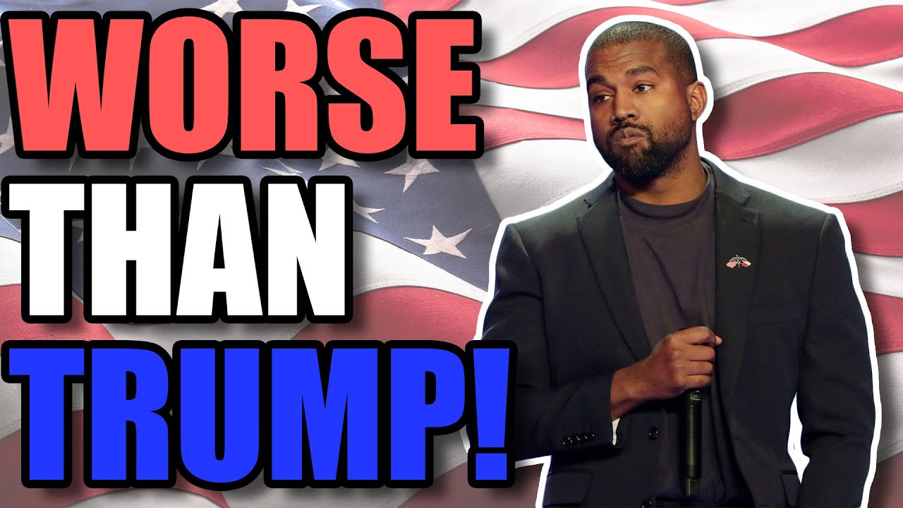 Kanye Revealed His Platform... IT'S WORSE THAN TRUMP!
