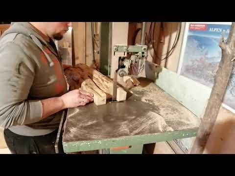 Couchtisch aus Apfelholz