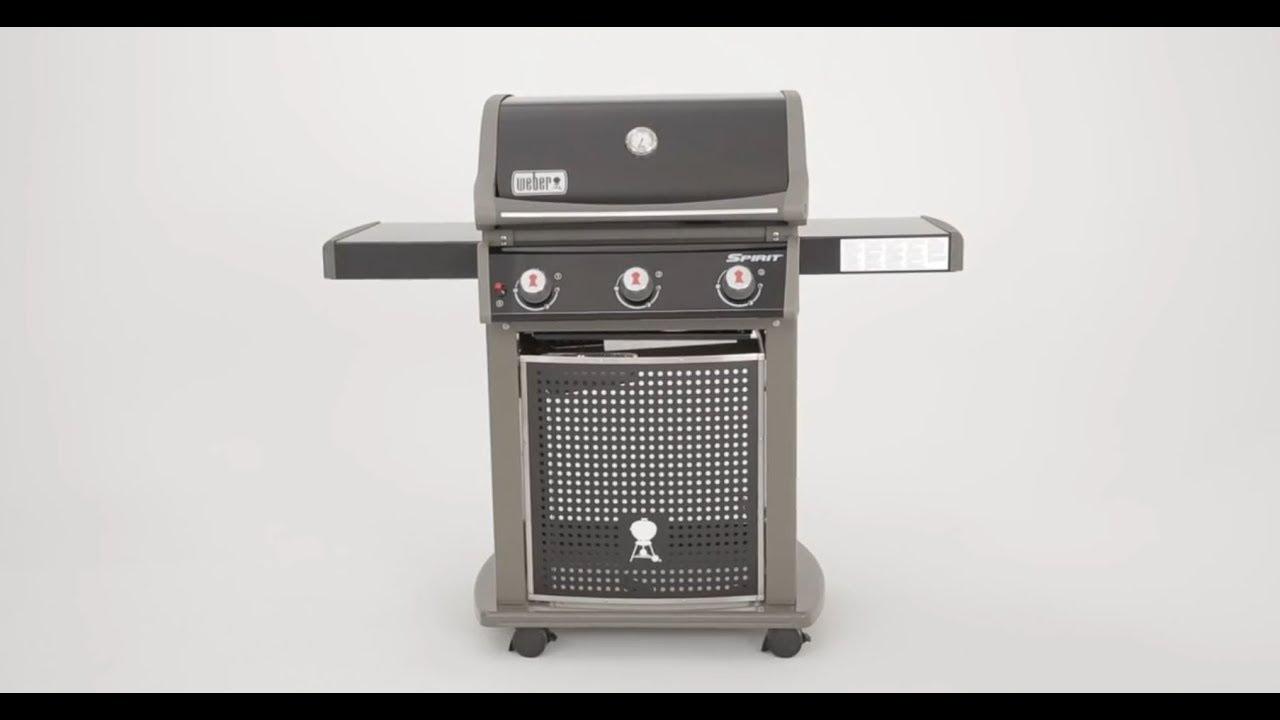 le barbecue à gaz spirit classic e-310 de weber - raviday barbecue
