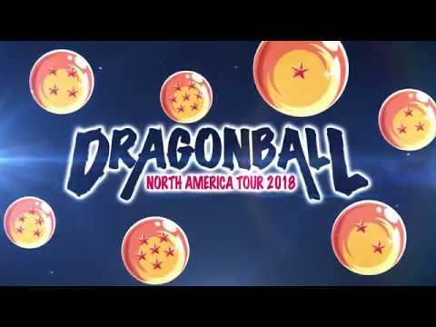 Dragon Ball North America Tour 2018