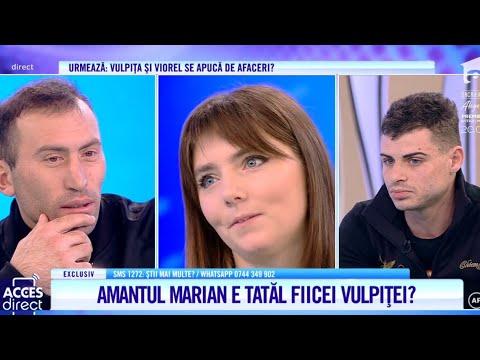 Marian, Detalii șoc Despre Iubirea Cu Vulpița! Veronica, La Un Pas De Bătaie!