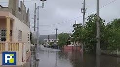 Imágenes de las inundaciones en Puerto Rico por el paso de la tormenta Isaías
