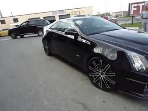 2012 Cts V Coupe On 20 Quot Staggered Ruff R955 Done By