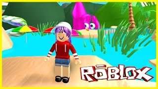 ROBLOX ESCAPE THE BEACH OBBY | RADIOJH GAMES