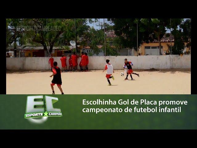 Escolhinha Gol de Placa promove mais uma edição do campeonato de futebol infantil