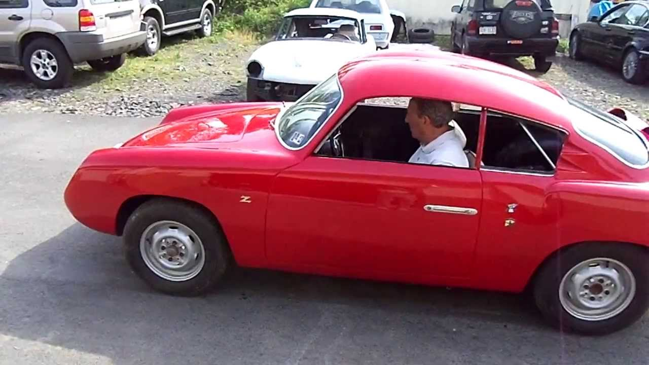 1959 FIAT Abarth 750 Zagato GT Double Bubble - YouTube