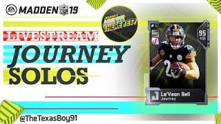 Journey And Level Cap Grind W/ Texas | Madden 19