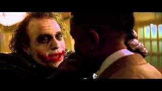 Джокер  Чё ты такой серьёзный   Темный рыцарь   Отрывок ►filmCut