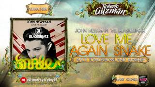 Blasterjaxx vs. John Newman vs Gemini - Love Me Again Snake (Avicii Tomorrowland 2015 Mashup)