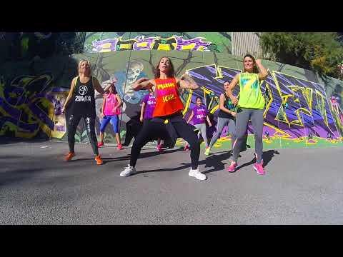 Báilame Remix - Nacho, Yandel, Bad Bunny - Zumba Escorial con Ana Arias