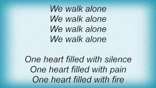 Rollins Band - We Walk Alone Lyrics