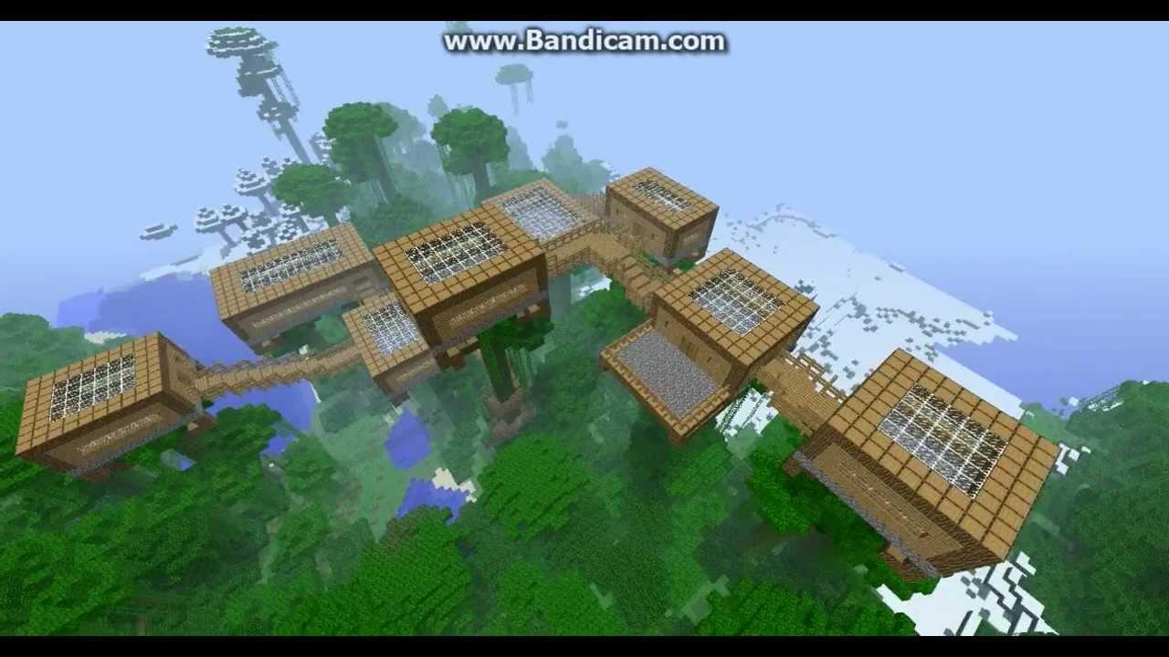Letu0027s Show Minecraft   Baumhaus Welt #1