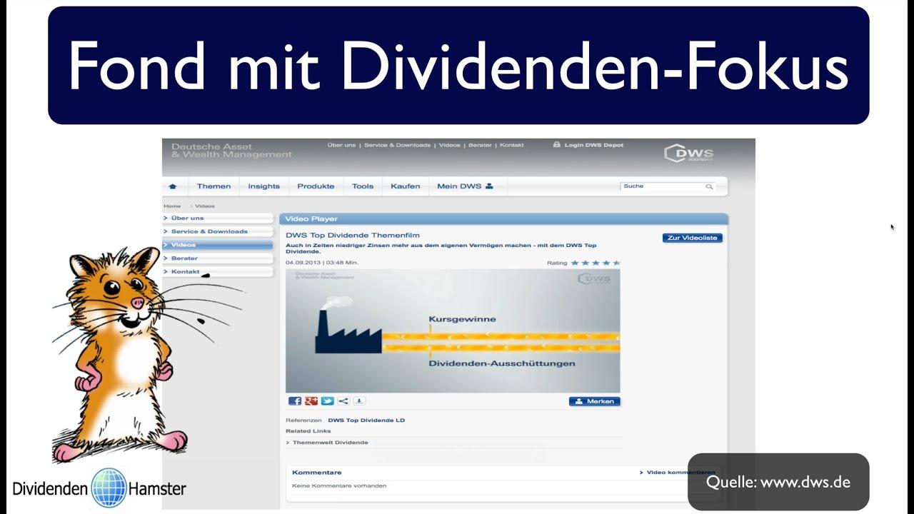 Dws Top Dividende Fondsweb