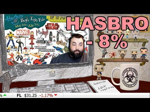 Investing for Gamers ~HASBRO TANKS -8% TIME TO BUY!~Investor XP