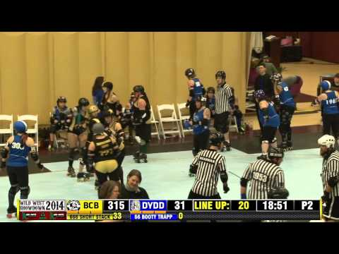 Boulder County Bombers vs Dockyard Derby Dames