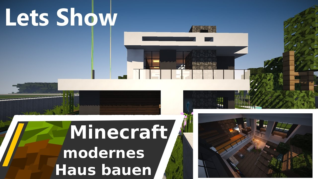 Minecraft modernes haus lets show download deutsch for Modernes haus minecraft