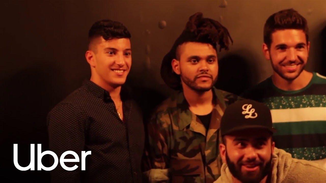 The Weeknd And Uberxo Uber Youtube
