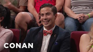 Audience Member Theme Songs: Handsome Pee Wee Herman Edition  - CONAN on TBS