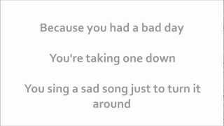 Daniel Powter Bad Day Lyrics. I made this video, hope you like it.