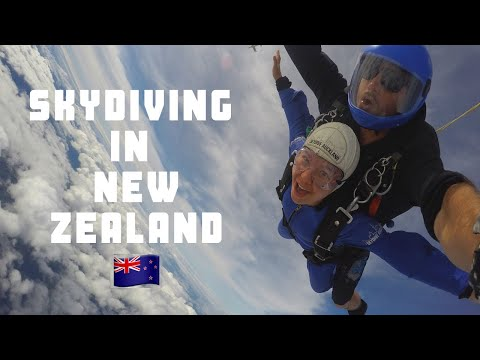 I WENT SKYDIVING IN NEW ZEALAND    SKYDIVE AUCKLAND
