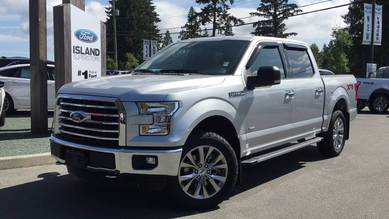 2016 ford f 150 xlt supercrew 4x4 touch screen review island ford youtube. Black Bedroom Furniture Sets. Home Design Ideas