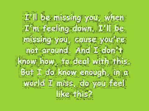 Ill Be Missing You-Lil Tweety ft. Marlene With Lyrics