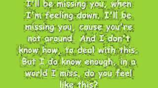 Ill Be Missing You-Lil Tweety ft. Marlene With Lyrics