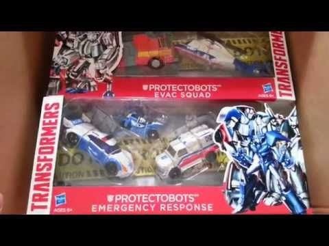 Transformers Asia Kids Day Protectobots Amazon.com Order Unboxing